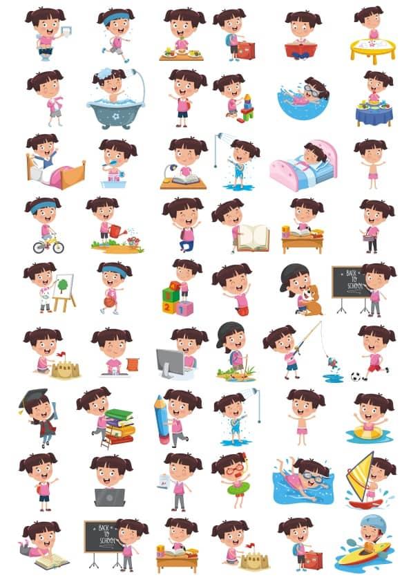 Children set 4 (cdr)
