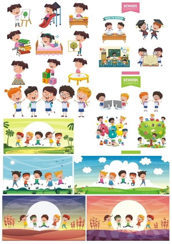 Children set 6 (cdr)