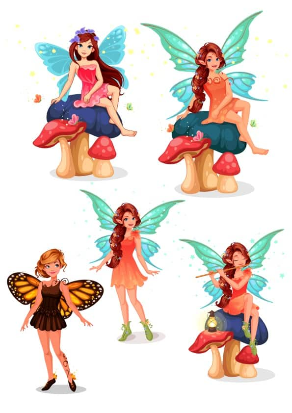 Fairy Set 2 (cdr)