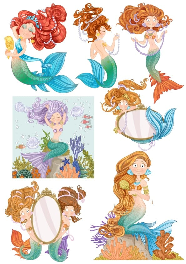 Mermaid Set 3 (cdr)