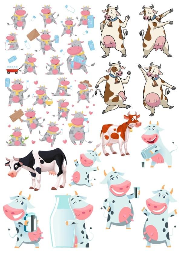 Cow Set (cdr)