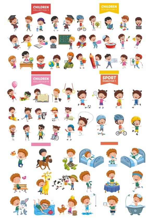 Children set 2 (cdr)
