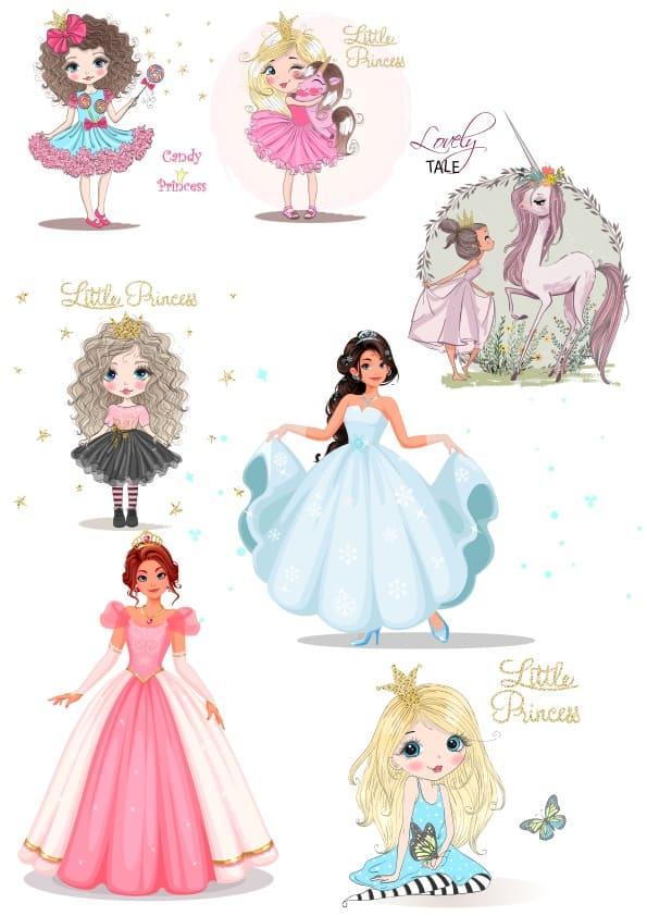 Princess Set (cdr)