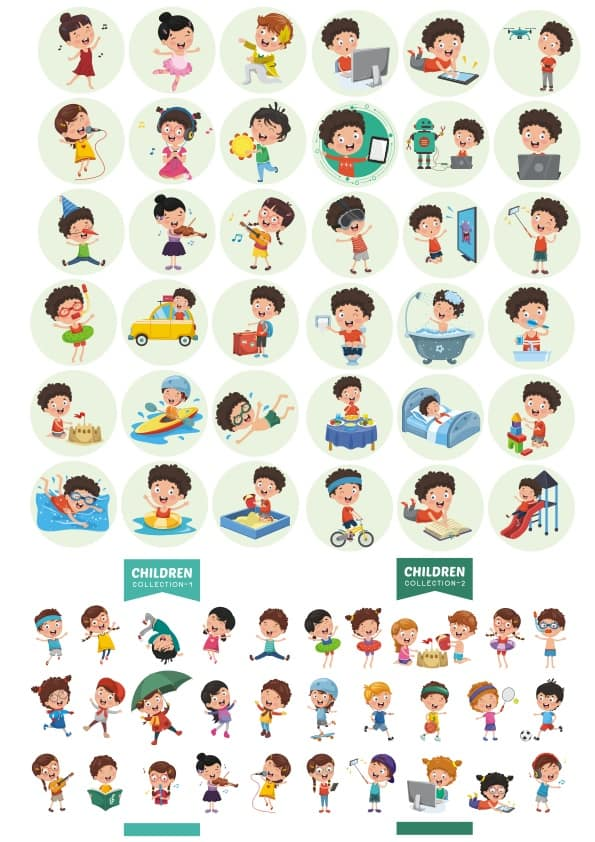 Children set 1 (cdr)