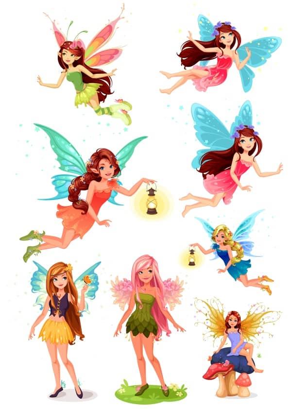 Fairy Set 1 (cdr)