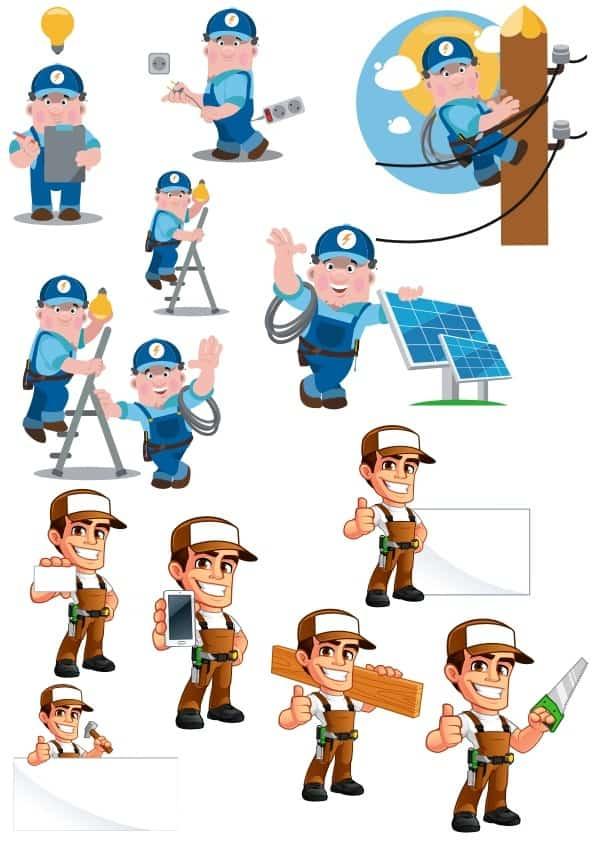 Workers Set 2 (cdr)