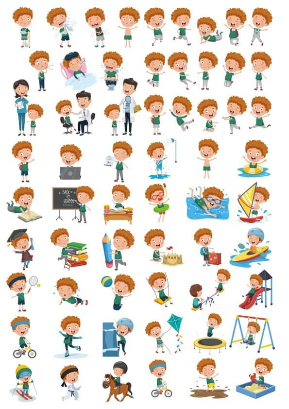 Children set 3 (cdr)