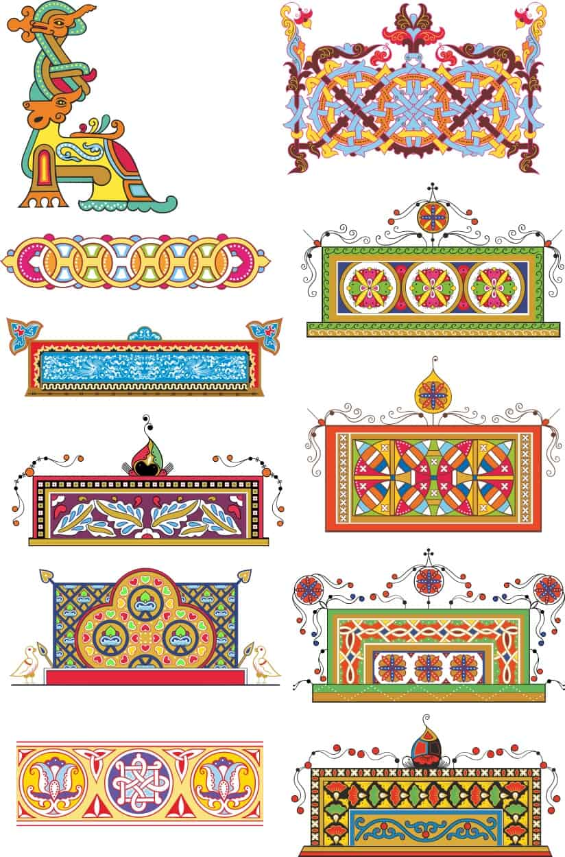 Russian Patterns 2 (cdr)
