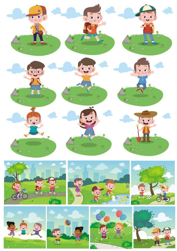 Children set 9 (cdr)