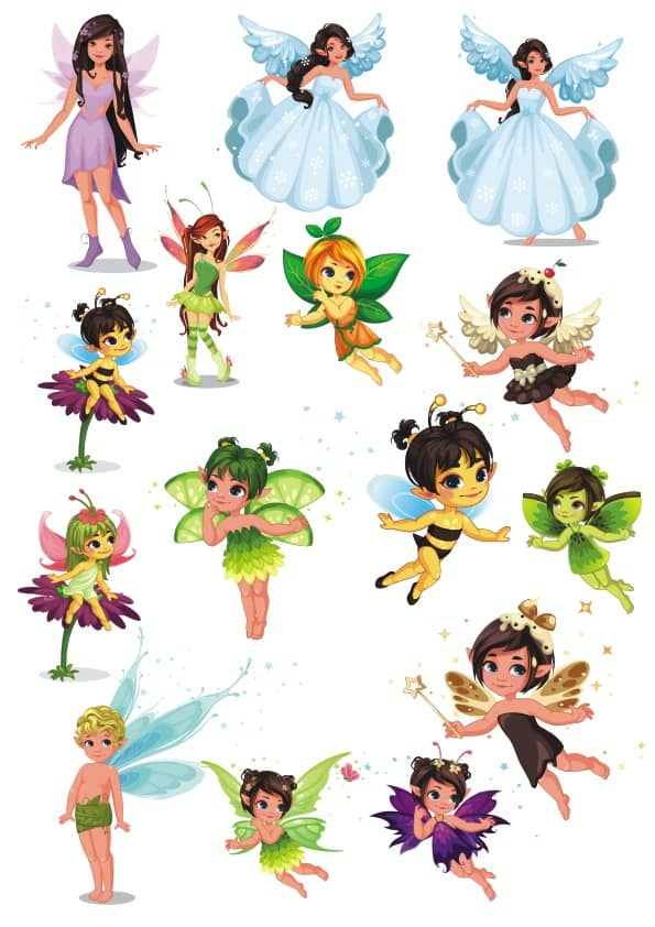 Fairy set 3 (cdr)