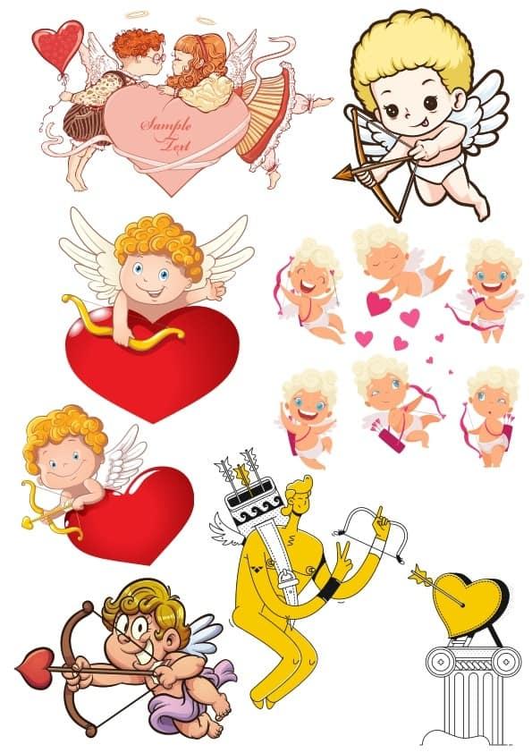 Cupids Set (cdr)