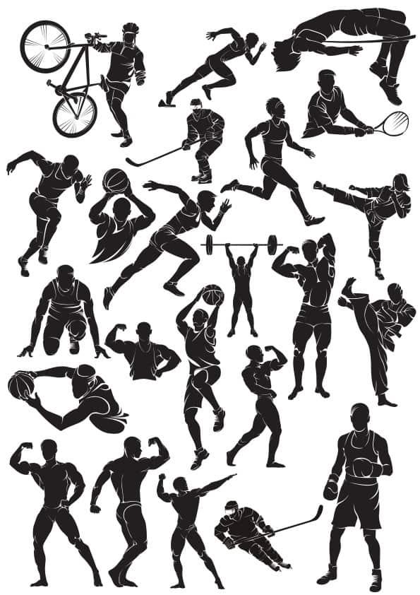 Sport silluet 3 (cdr)