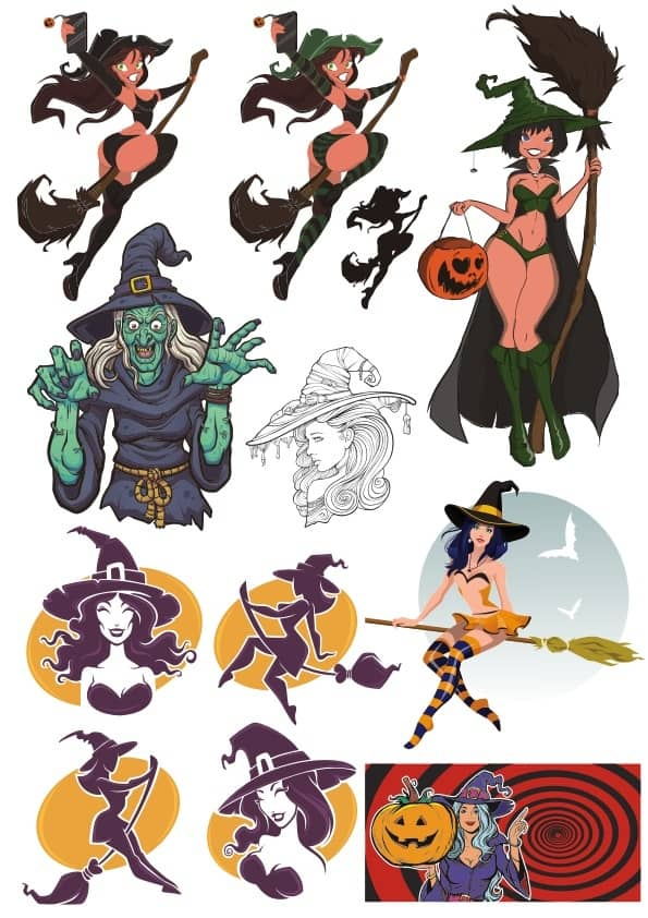 Witch 2 set (cdr)