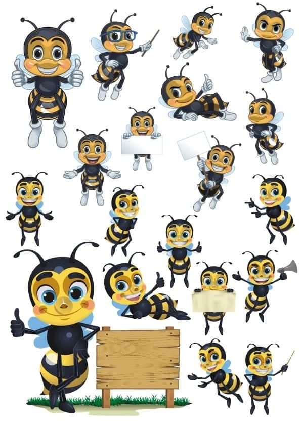 Bee set (cdr)