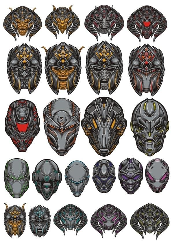Mask set 1 (cdr)