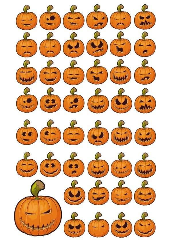 Halloween Pumpkin set (cdr)