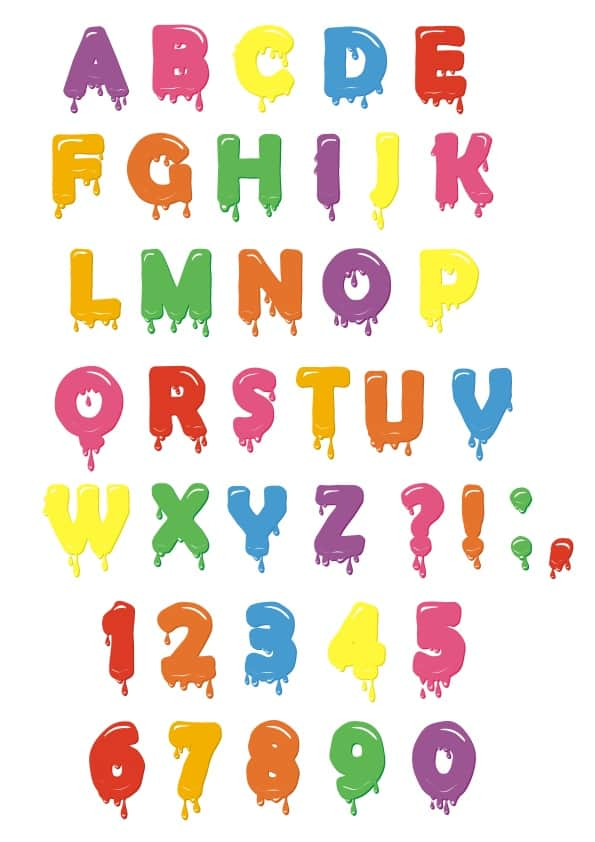 Alphabet set (cdr)