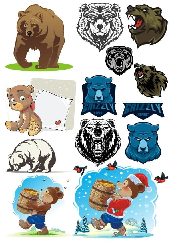Bears set 2 (cdr)