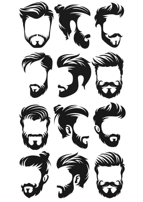 Man Haircut set (cdr)