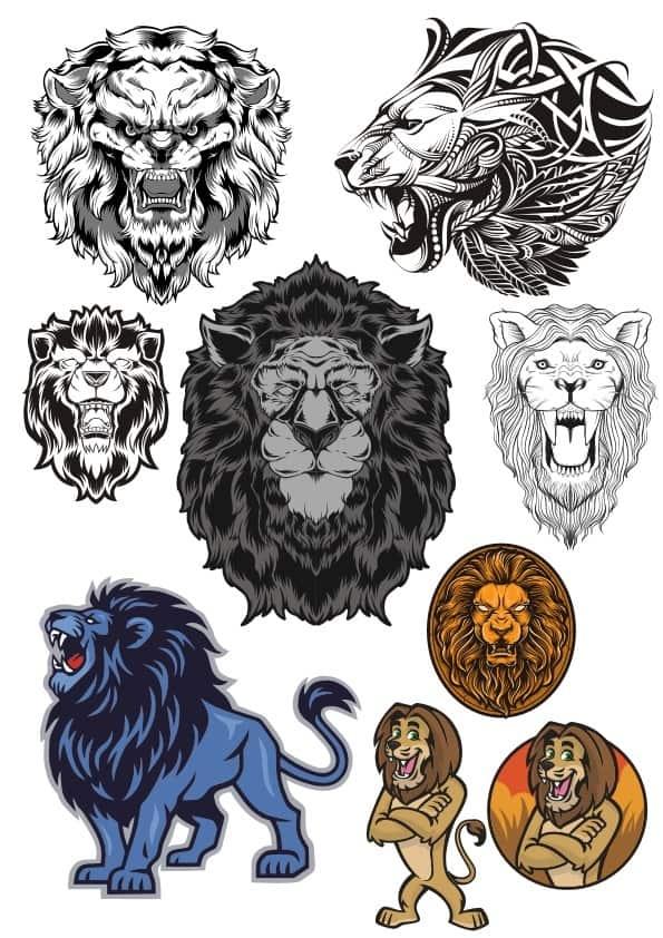 Lion 2 set (cdr)