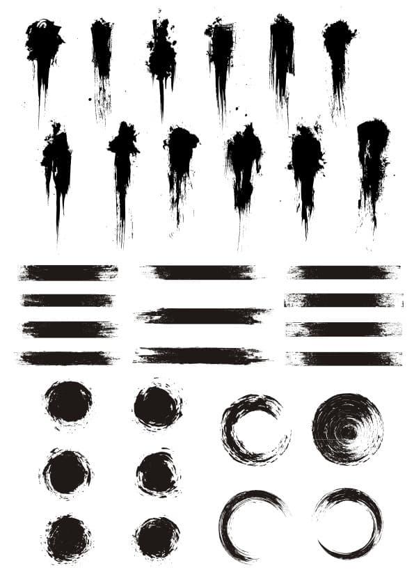 Grunge Elements set (cdr)