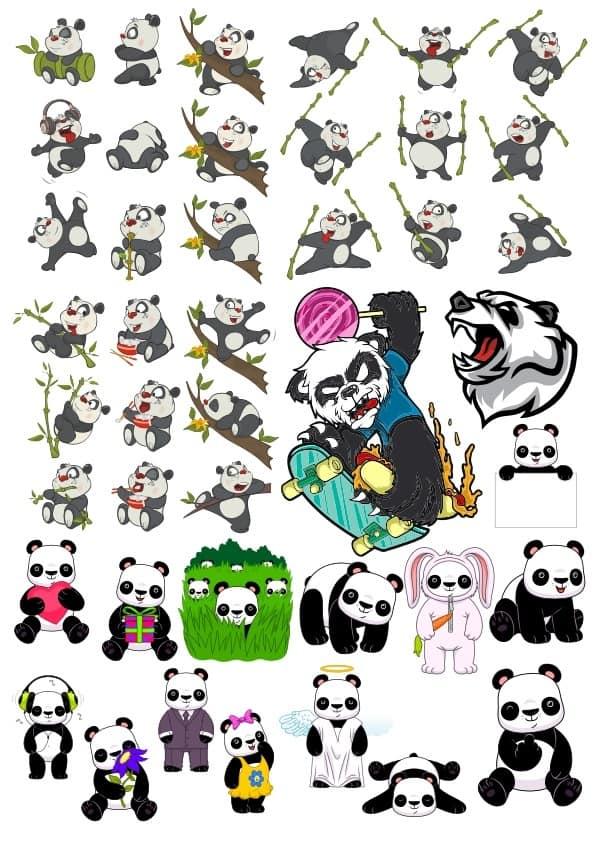 Panda set (cdr)