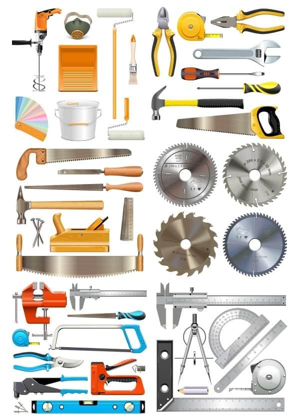 Tools set (cdr)