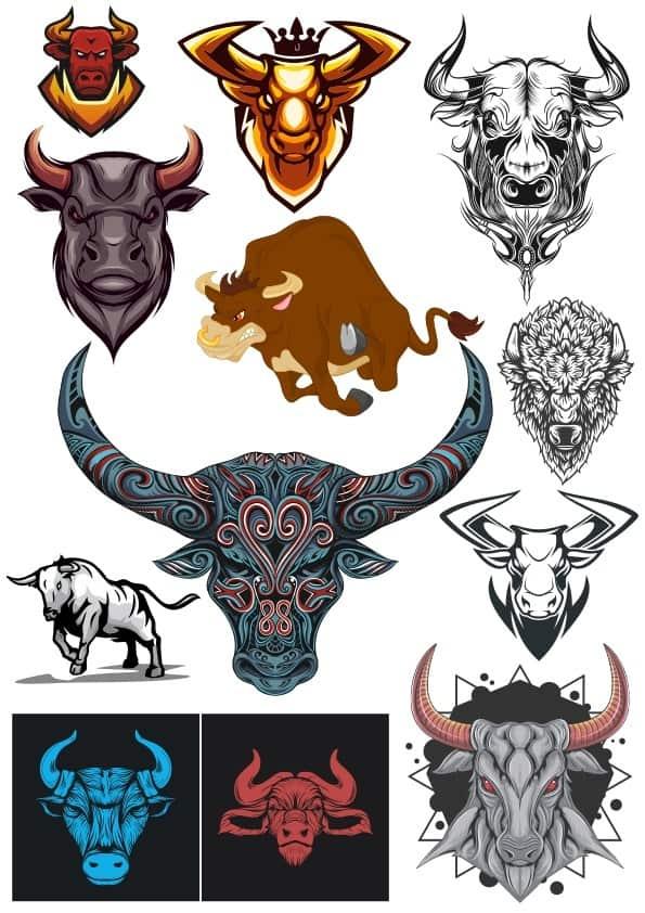 Bulls set (cdr)