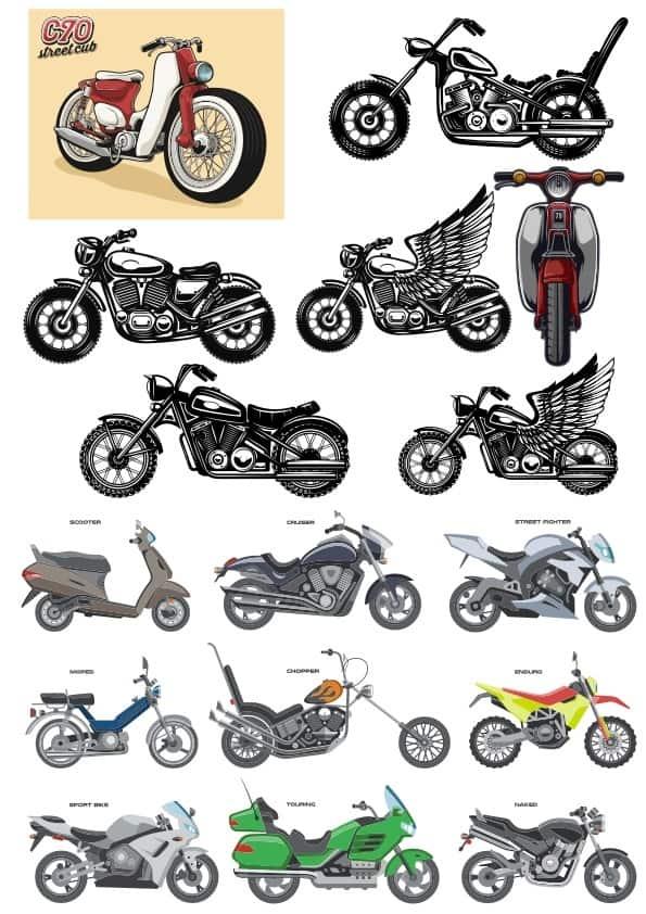 Motocycle set (cdr)