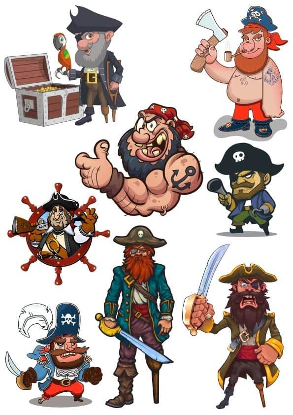 Pirates Set (cdr)
