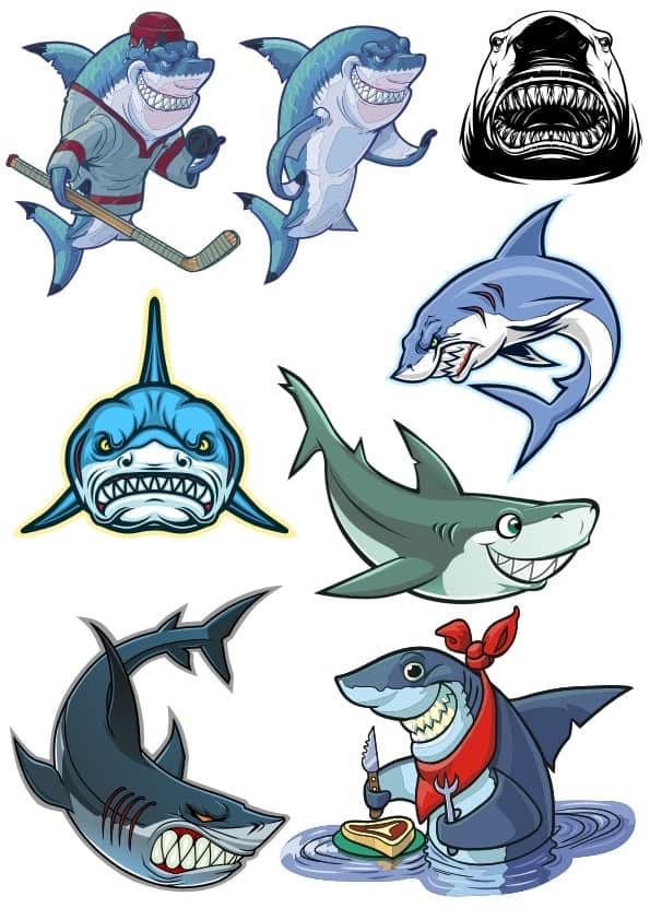 Sharks set (cdr)