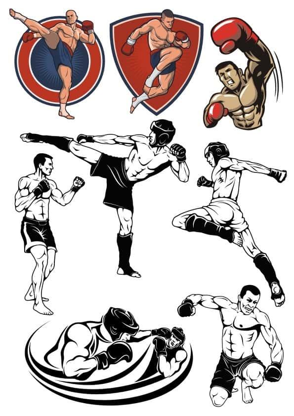 Fighter set (cdr)