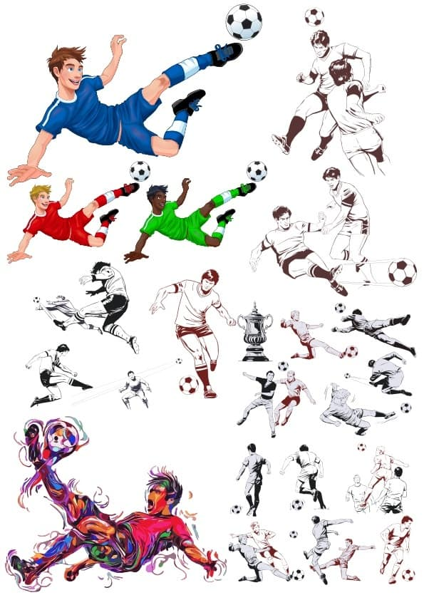 Football set (cdr)