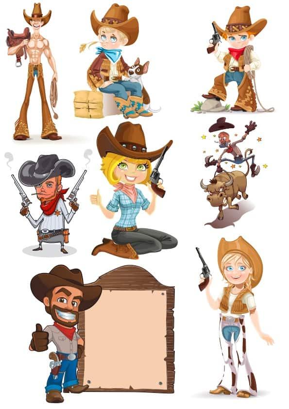 Cowboy set (cdr)