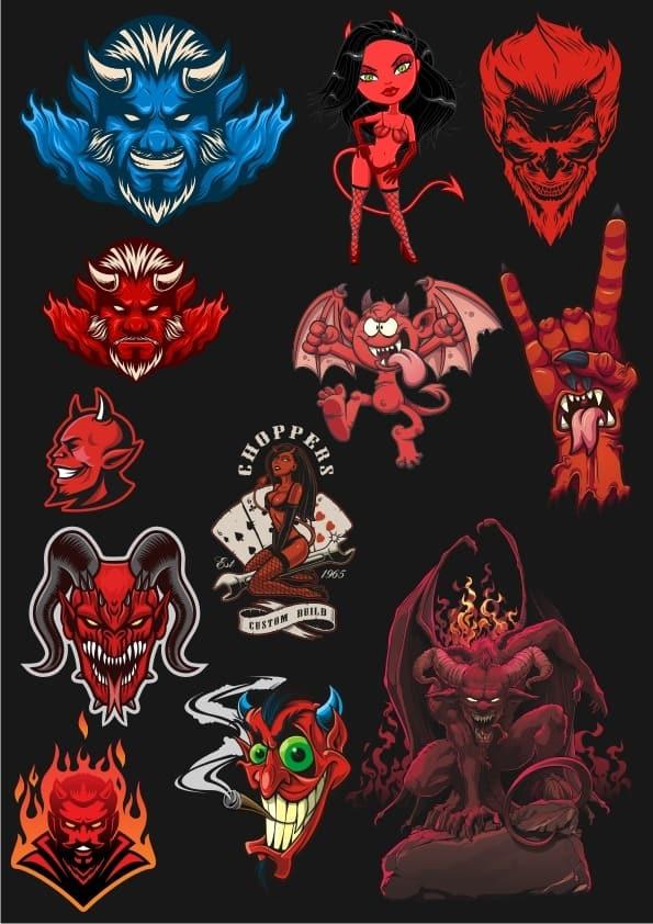 Devils set (cdr)