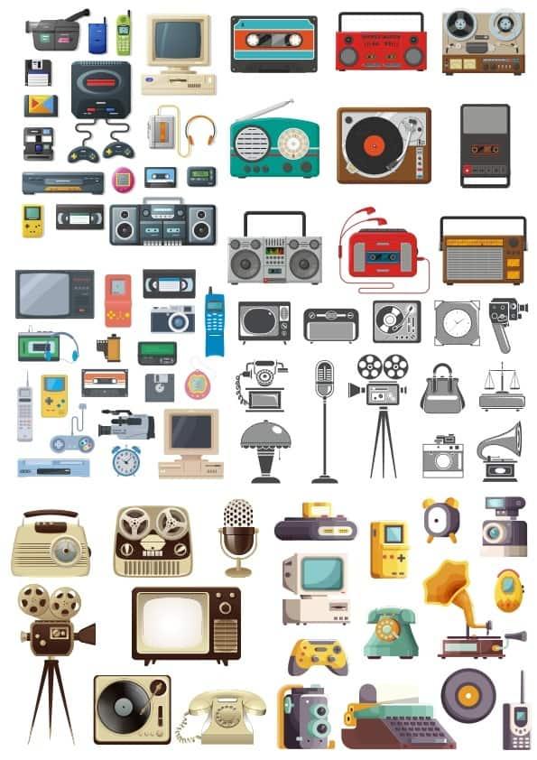 Retro Devices set (cdr)