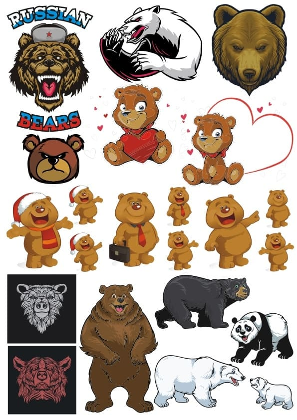 Bears set 1 (cdr)