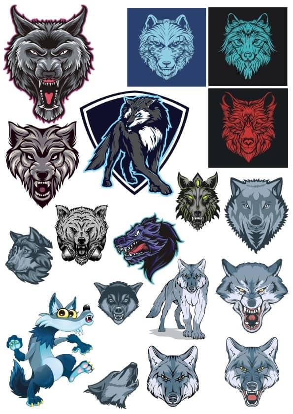 Wolf set 2 (cdr)