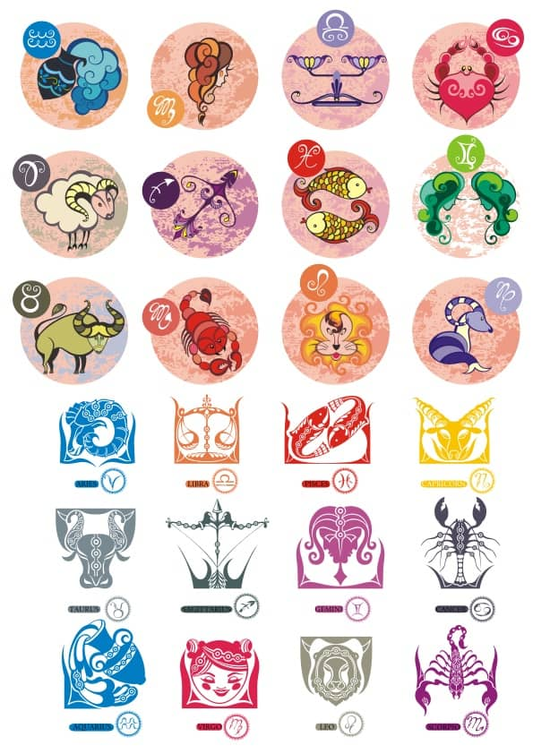 Zodiac set 2 (cdr)