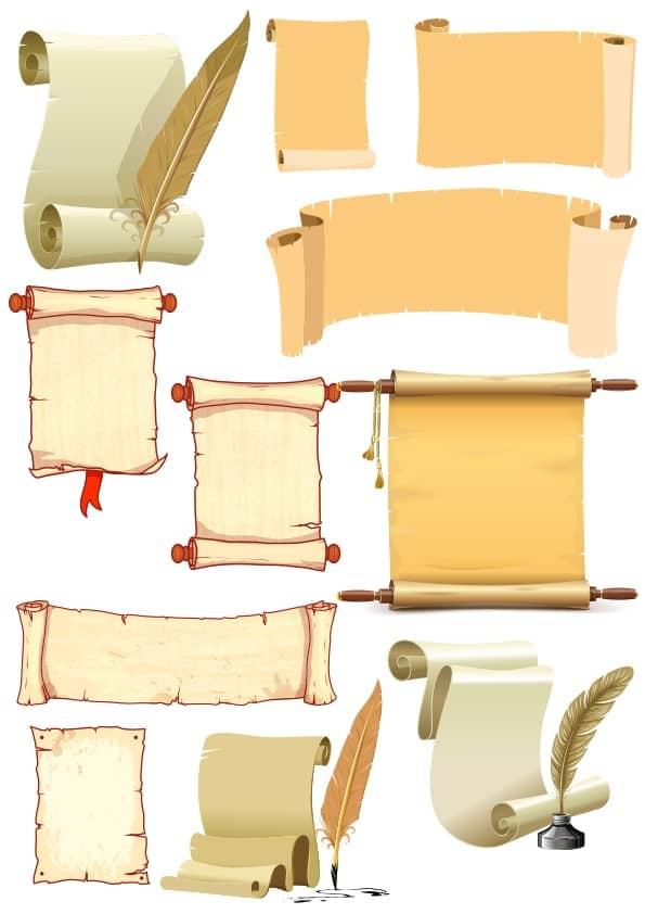 Scrolls set (cdr)