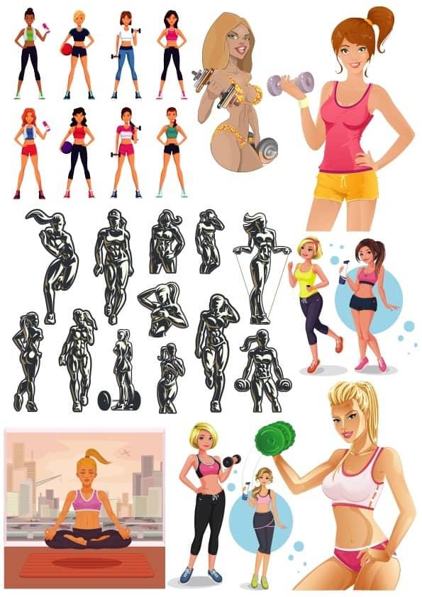 Sport Girls set (cdr)