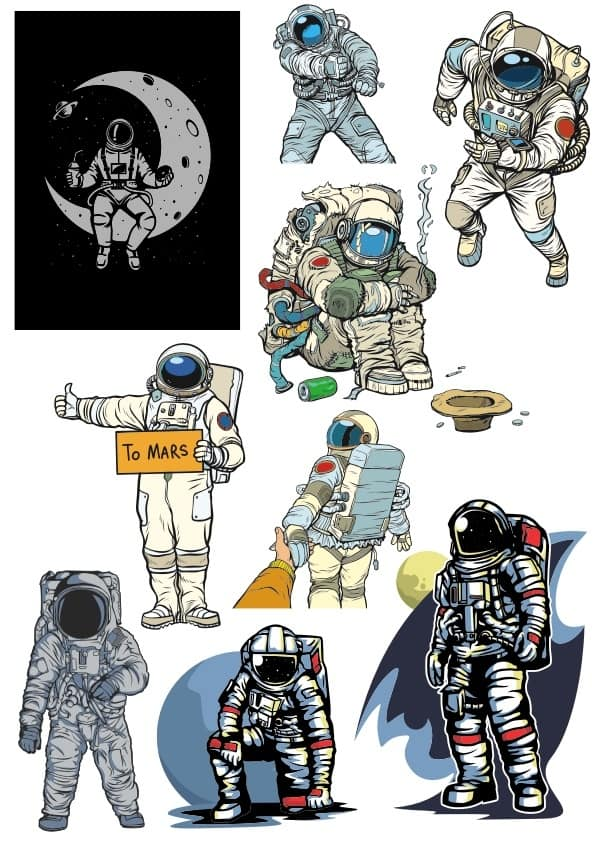 Astronaut set (cdr)