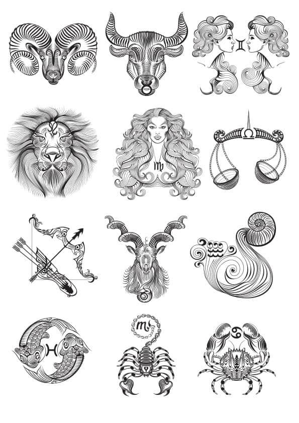 Zodiac set 6 (cdr)