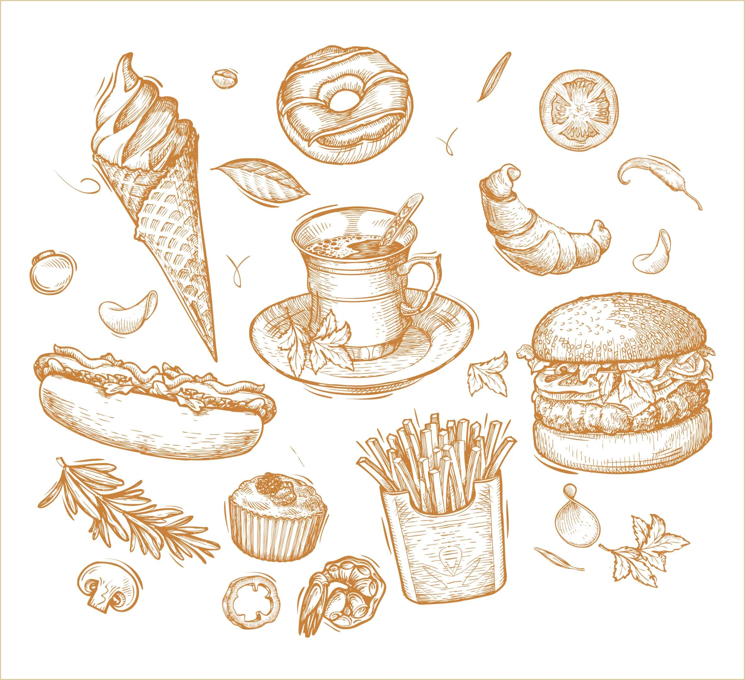 Fastfood set (cdr)