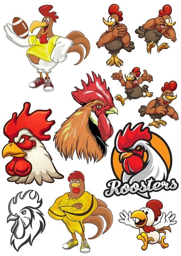Rooster set 2 (cdr)