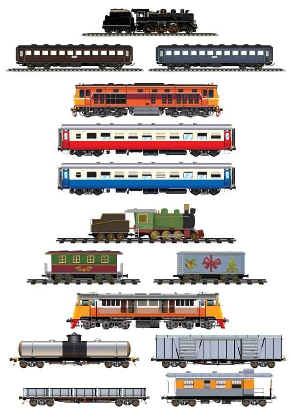 Trains set (cdr)