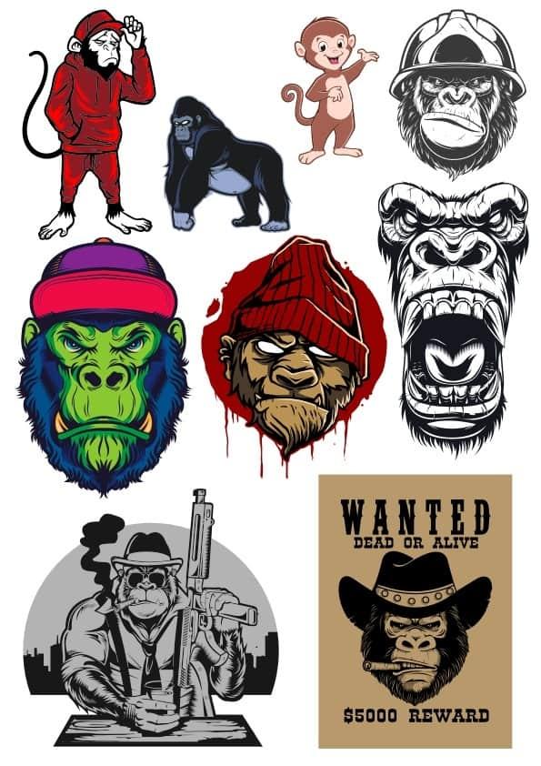 Monkey set 2 (cdr)
