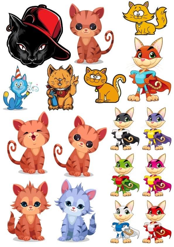 Cat set 2 (cdr)