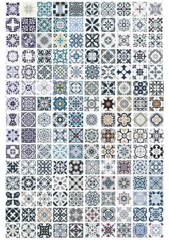 Patterns 1 set (cdr)