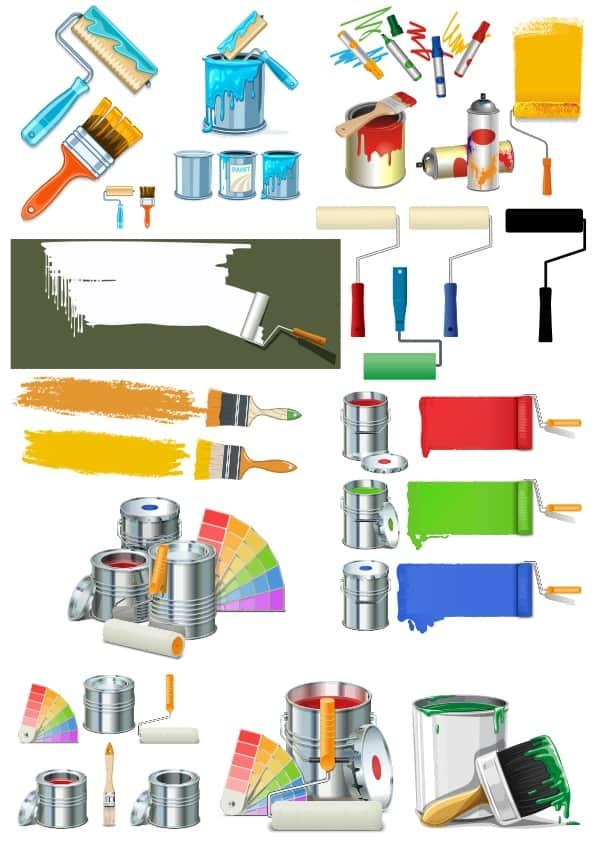 Paints set (cdr)